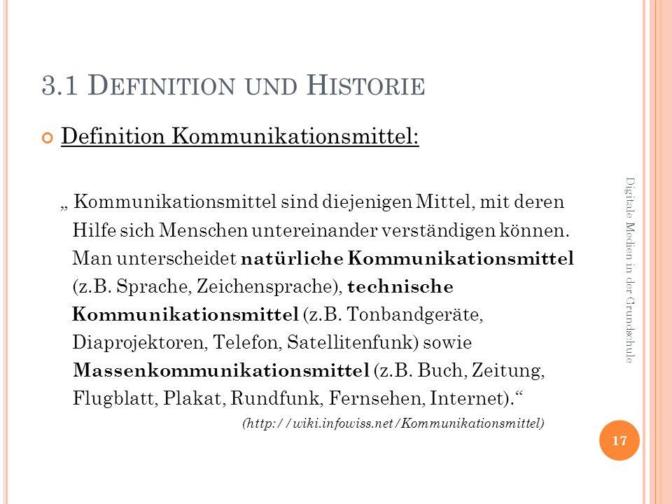 3.1 Definition und Historie