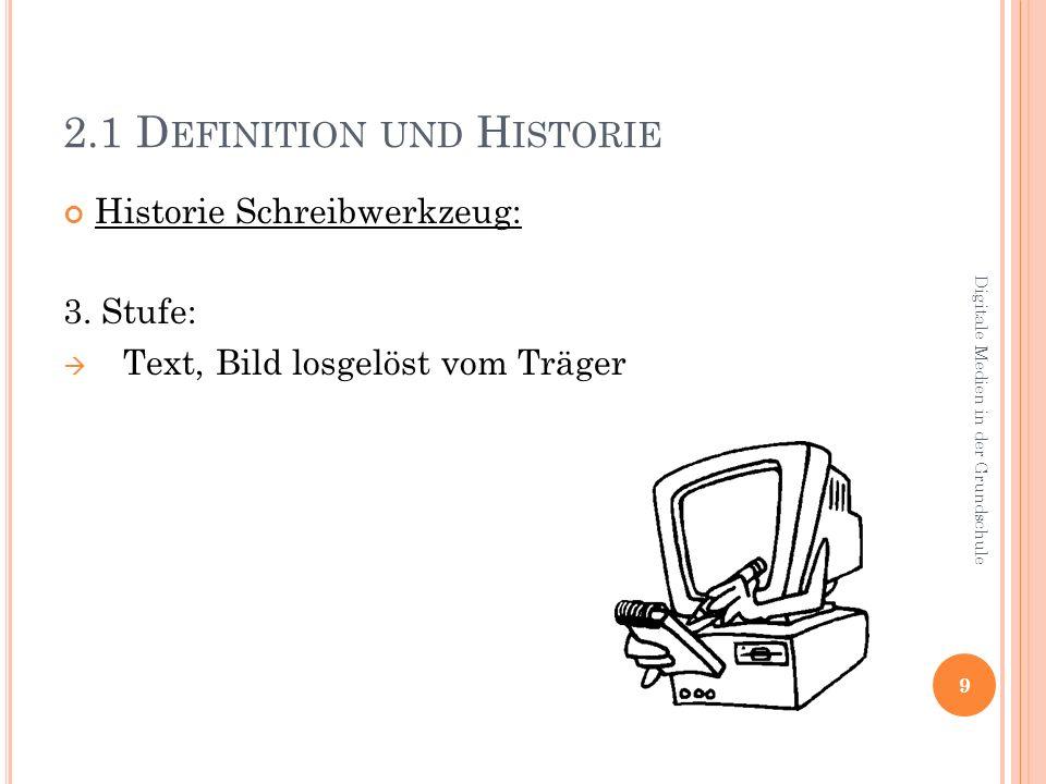 2.1 Definition und Historie