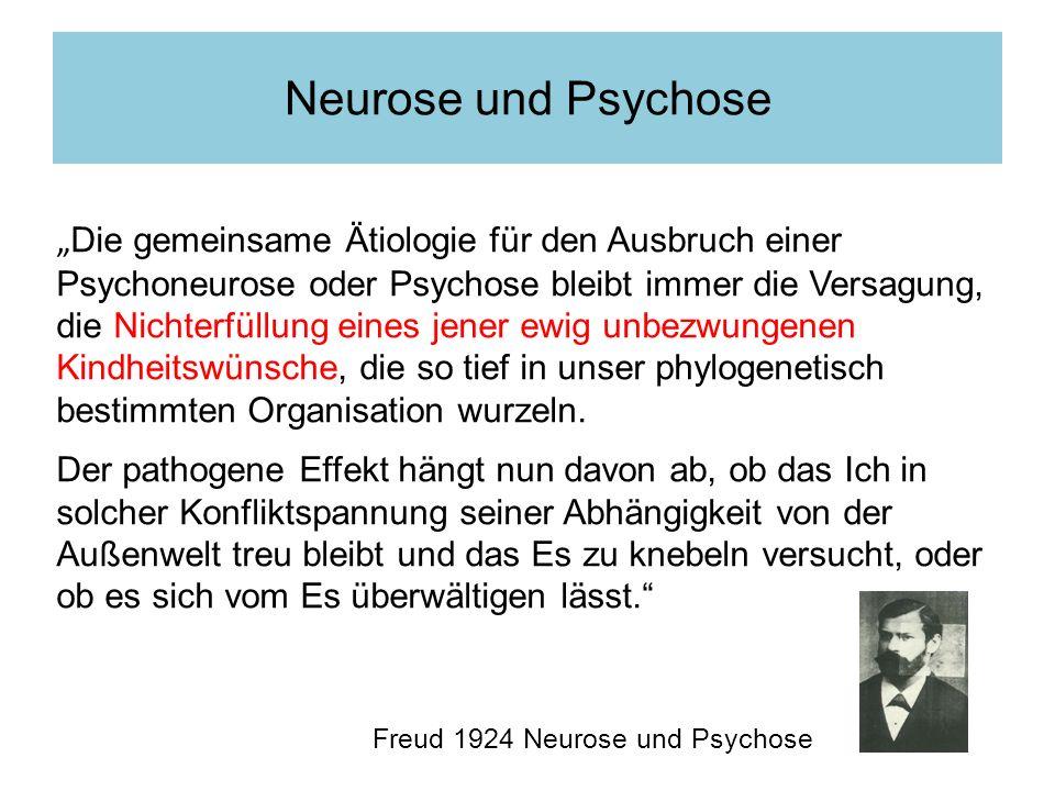 Neurose und Psychose