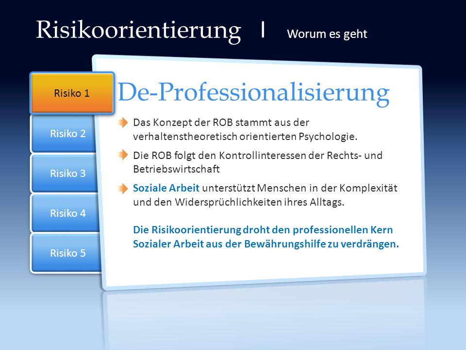 De-Professionalisierung