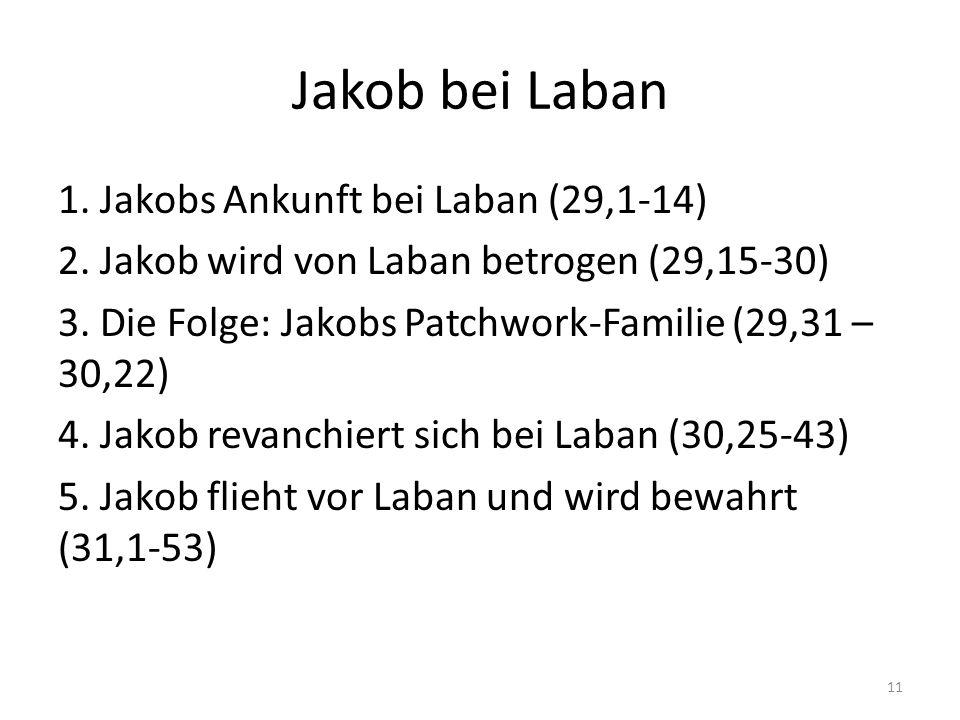 Jakob bei Laban