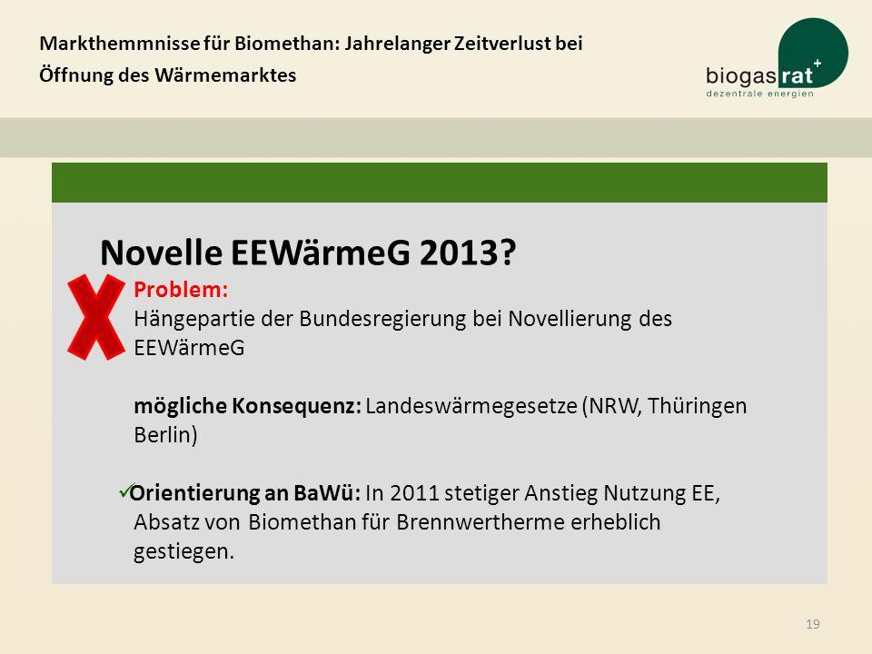mögliche Konsequenz: Landeswärmegesetze (NRW, Thüringen Berlin)