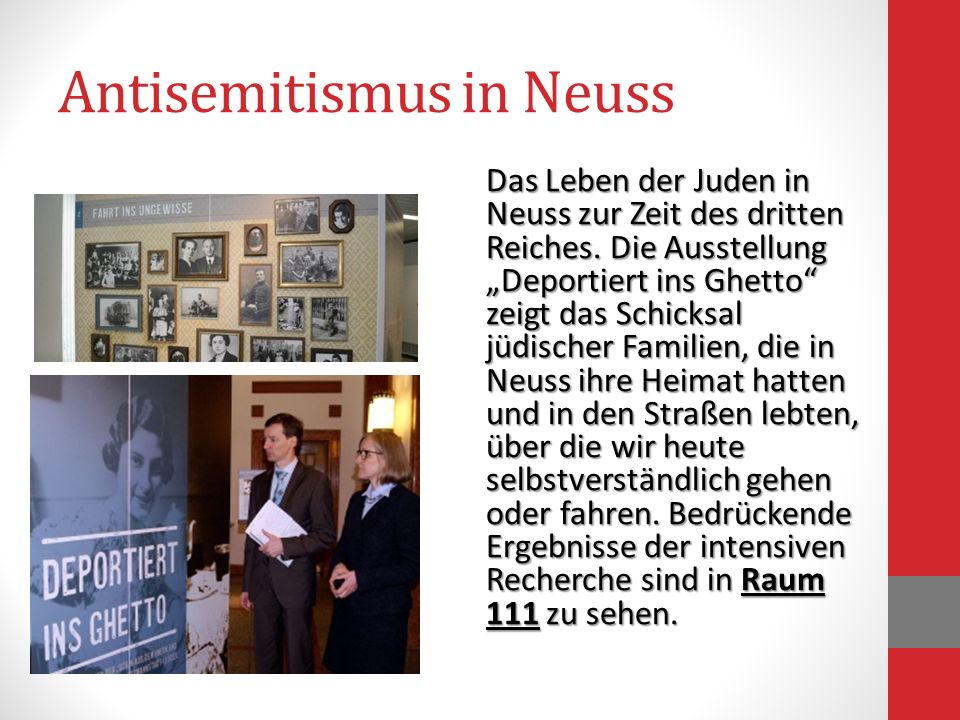 Antisemitismus in Neuss