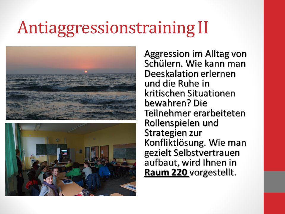 Antiaggressionstraining II