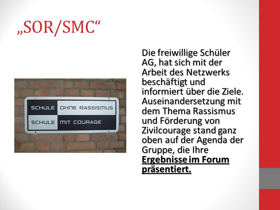 """""""SOR/SMC"""