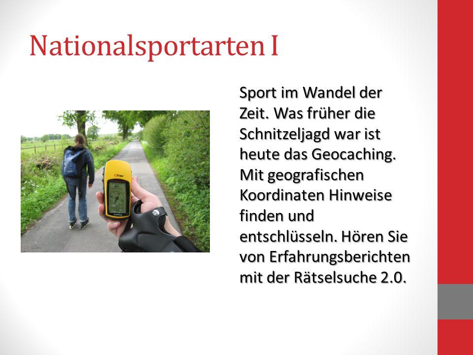 Nationalsportarten I