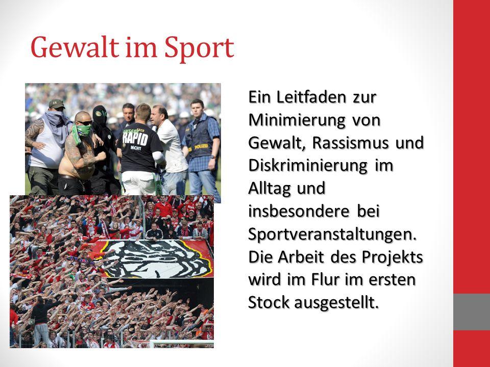 Gewalt im Sport