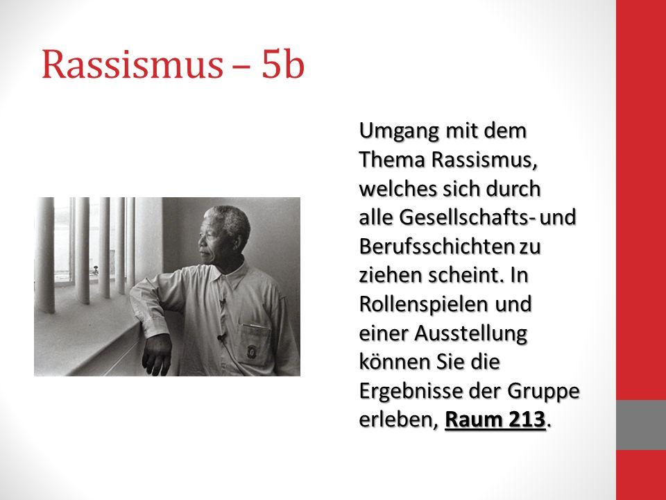 Rassismus – 5b