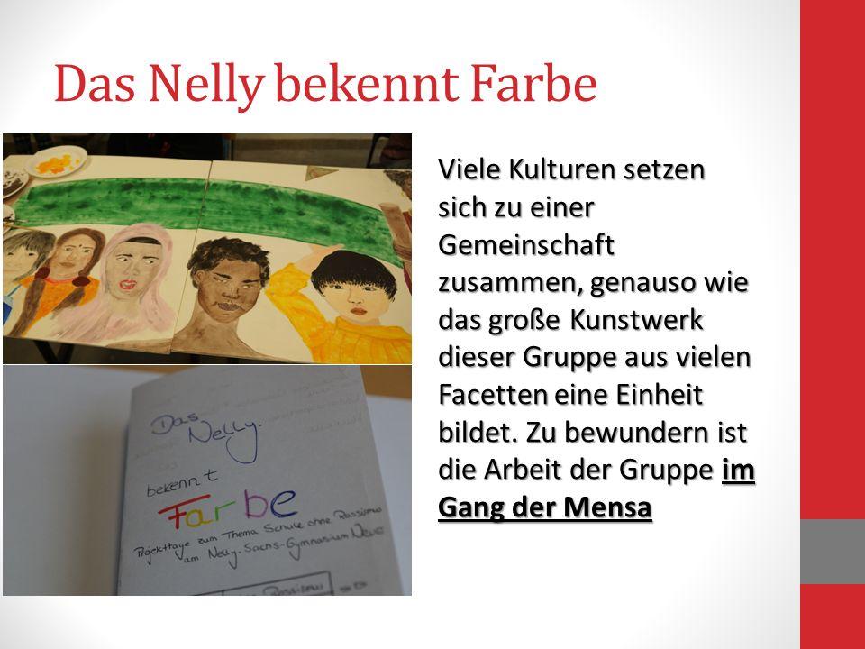 Das Nelly bekennt Farbe