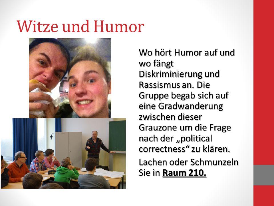 Witze und Humor