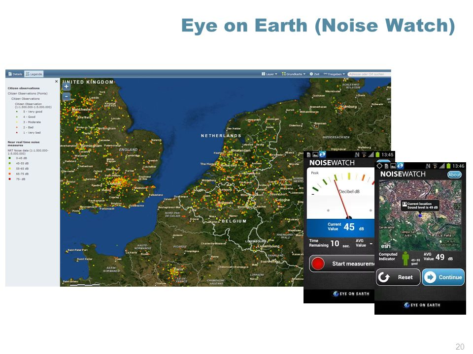 Eye on Earth (Noise Watch)