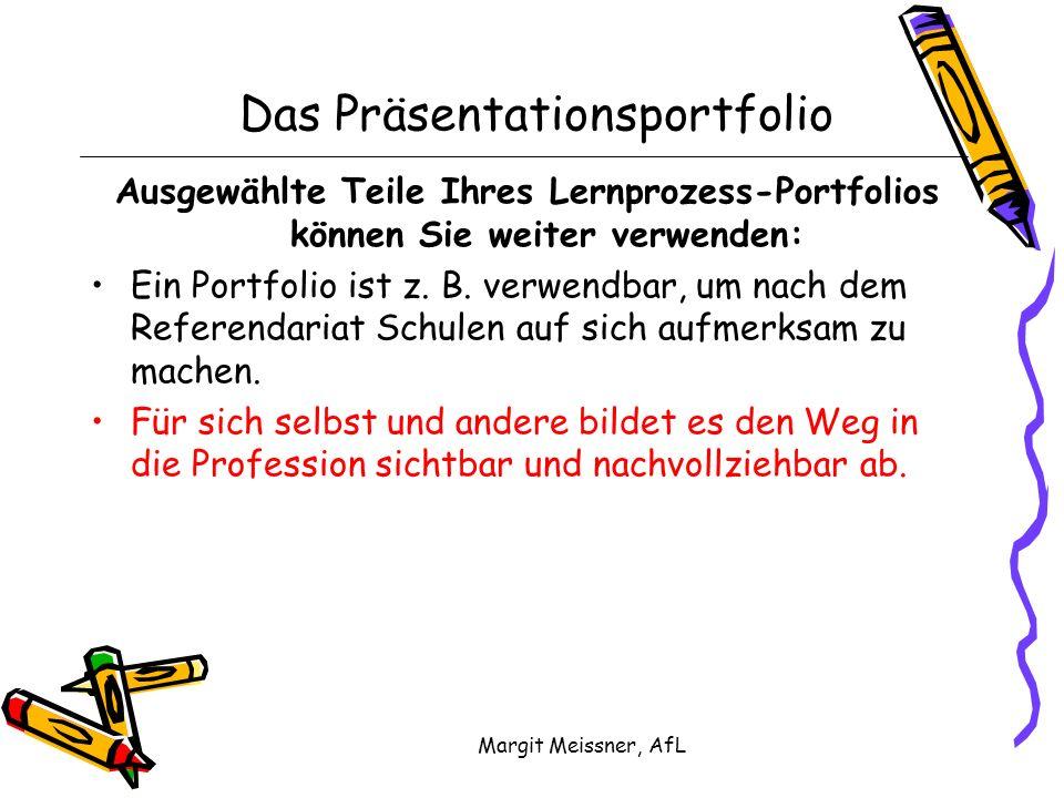 Das Präsentationsportfolio