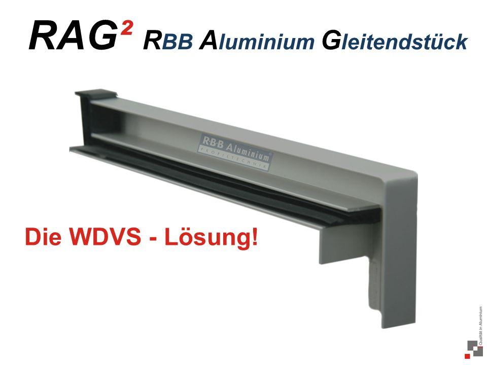 RAG² RBB Aluminium Gleitendstück