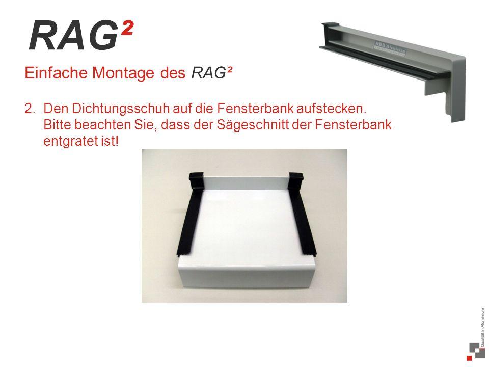 RAG² Einfache Montage des RAG²