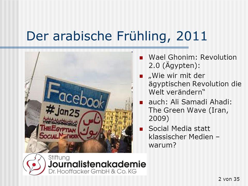 Der arabische Frühling, 2011