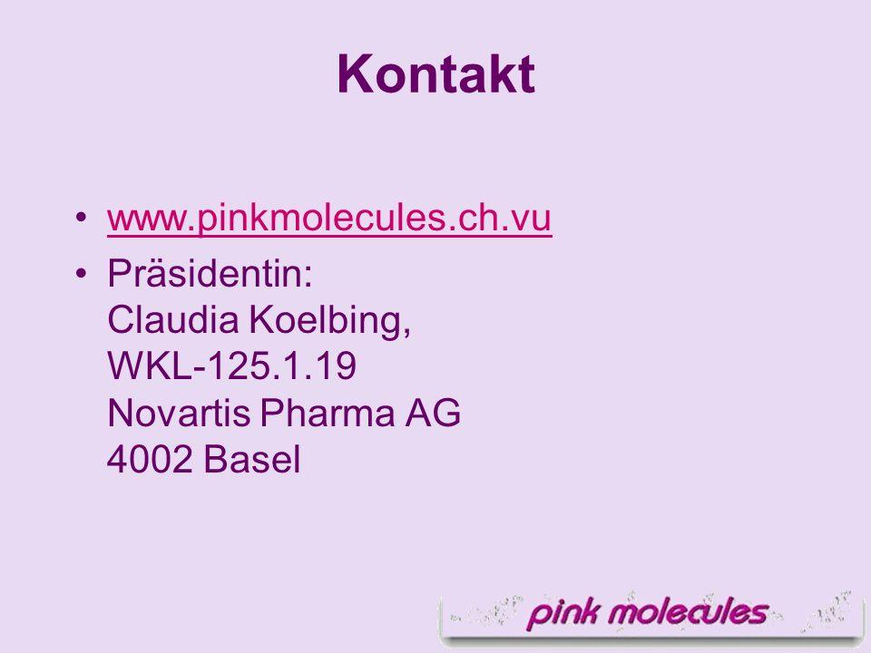 Kontakt www.pinkmolecules.ch.vu