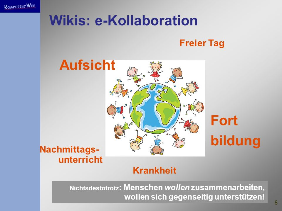 Wikis: e-Kollaboration