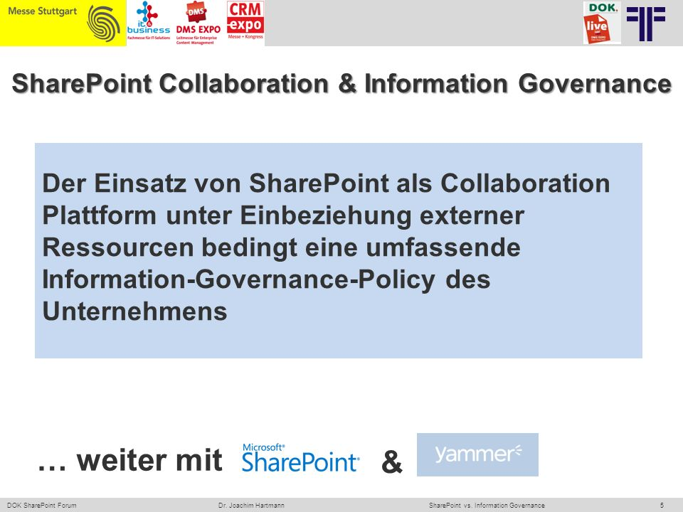 SharePoint Collaboration & Information Governance