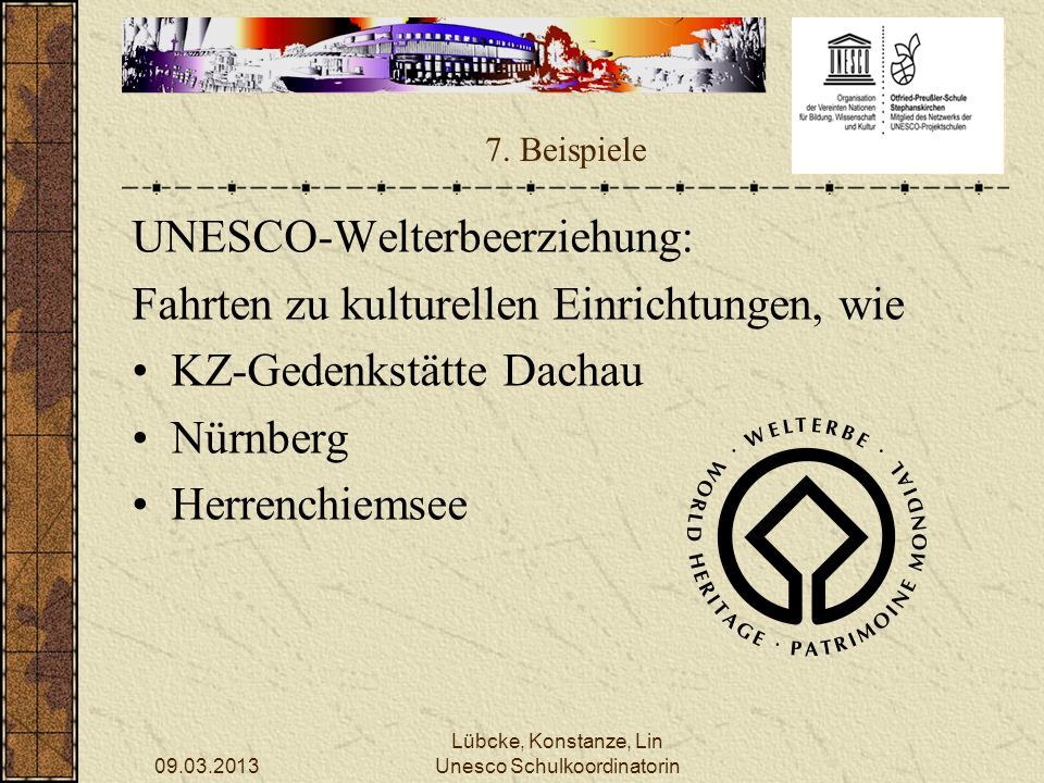 Unesco Schulkoordinatorin