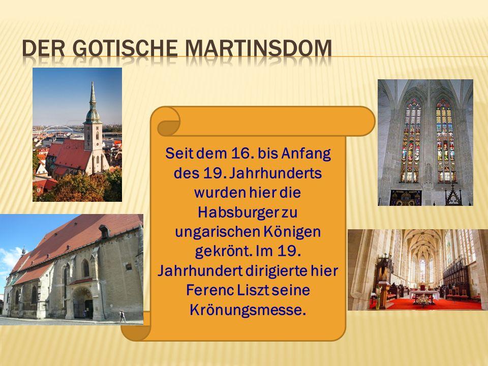 der gotische Martinsdom