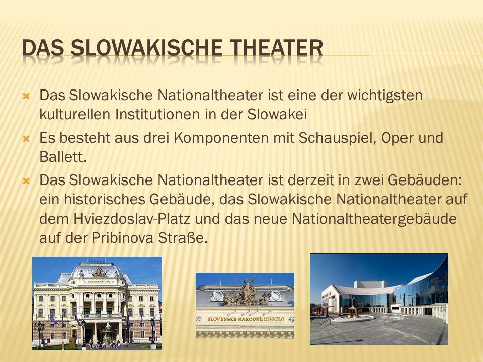 Das Slowakische theater