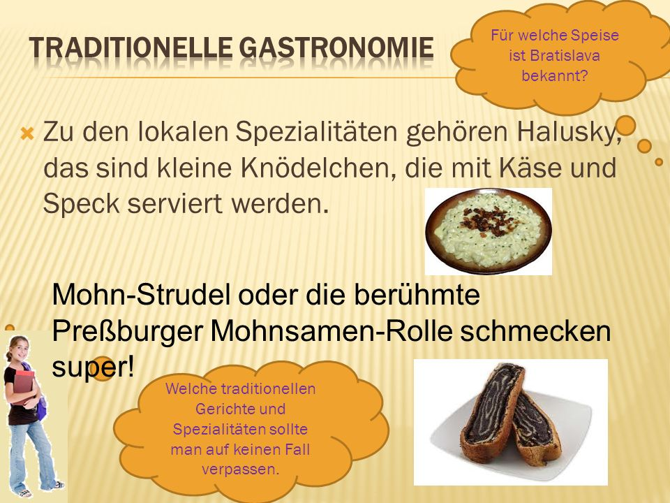 Traditionelle Gastronomie