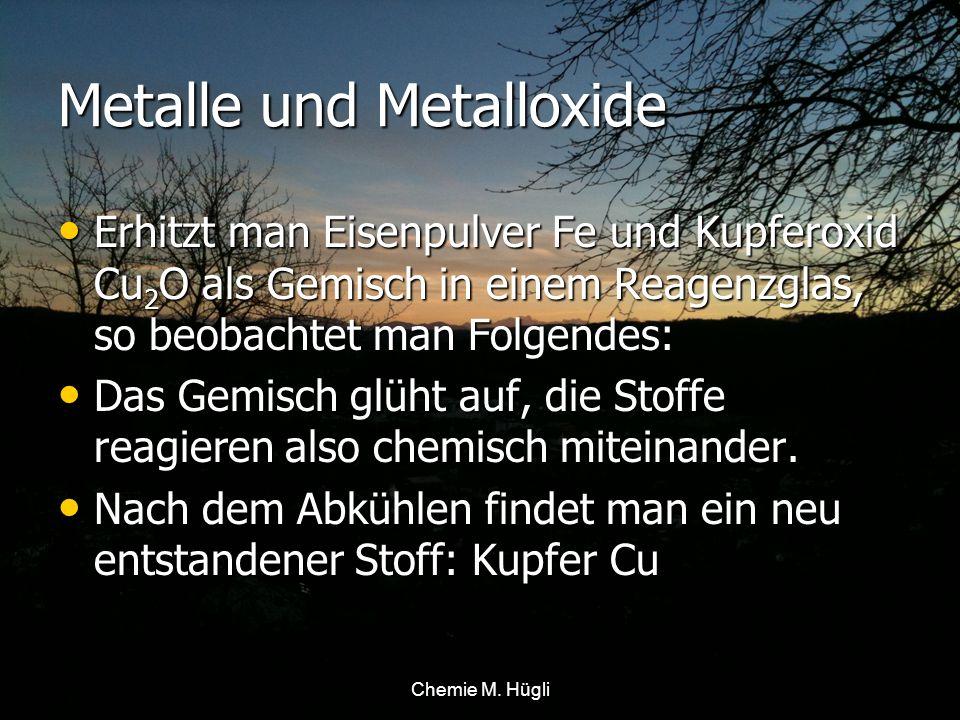 Metalle und Metalloxide