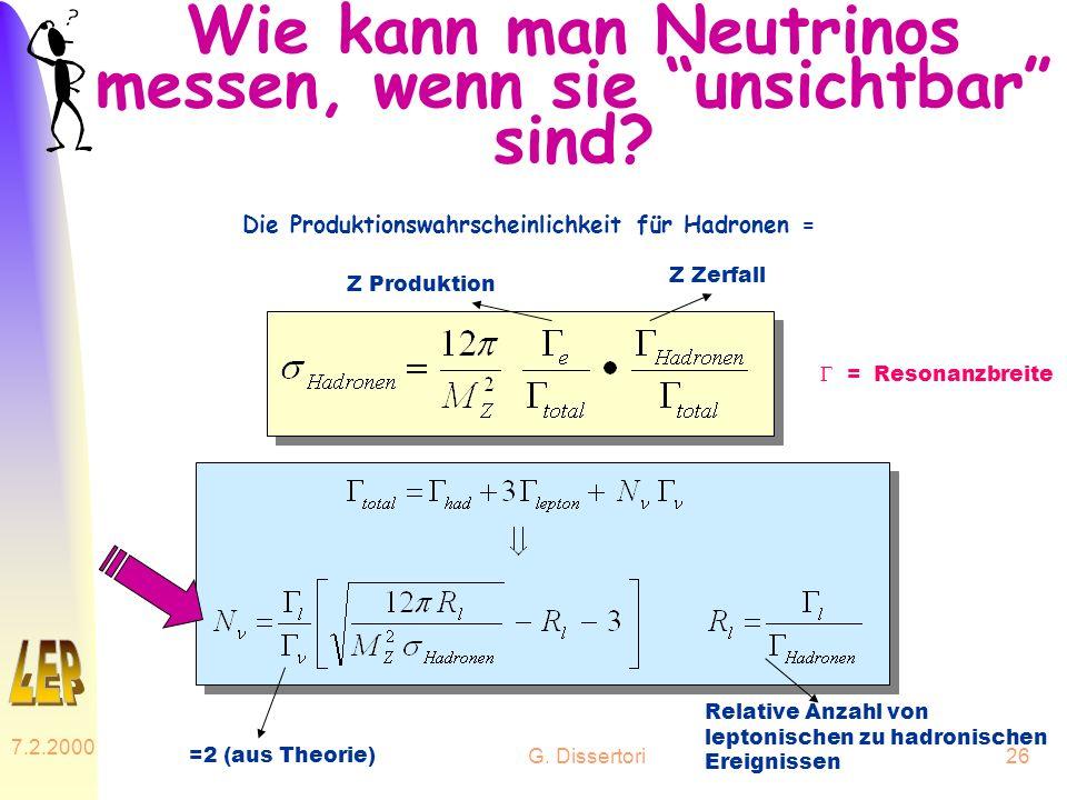 Wie kann man Neutrinos messen, wenn sie unsichtbar sind