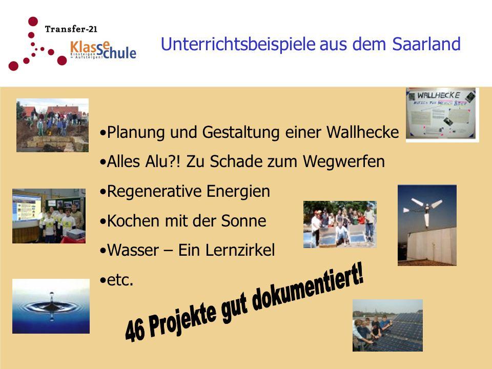 46 Projekte gut dokumentiert!
