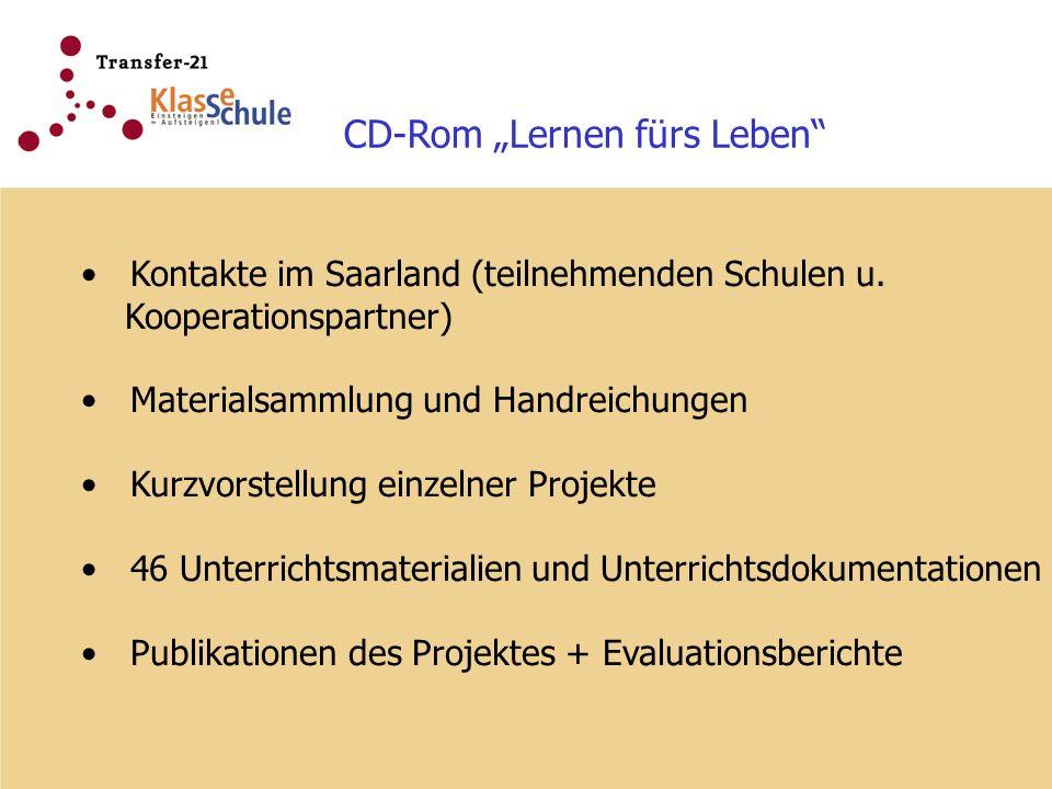 """CD-Rom """"Lernen fürs Leben"""
