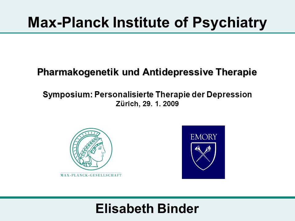 Max-Planck Institute of Psychiatry