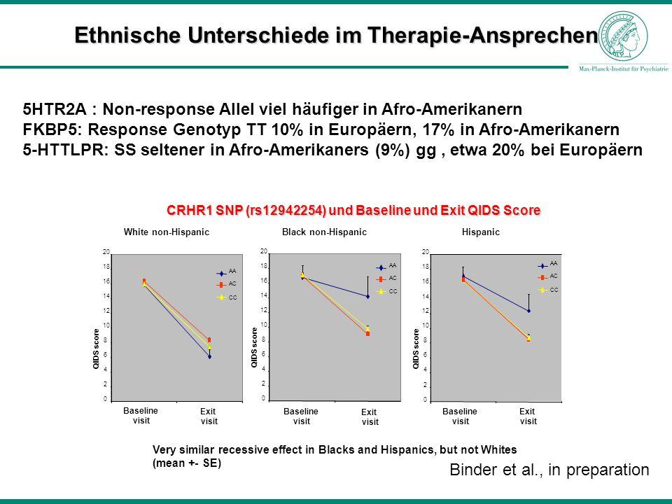 Ethnische Unterschiede im Therapie-Ansprechen