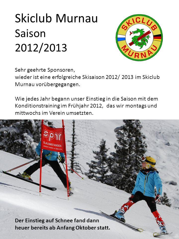 Skiclub Murnau Saison 2012/2013