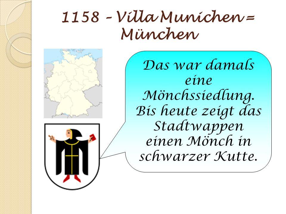 1158 – Villa Munichen = München