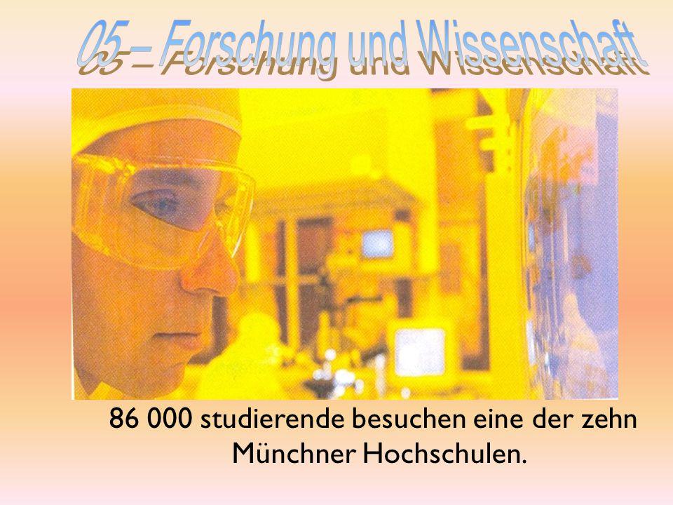 05 – Forschung und Wissenschaft