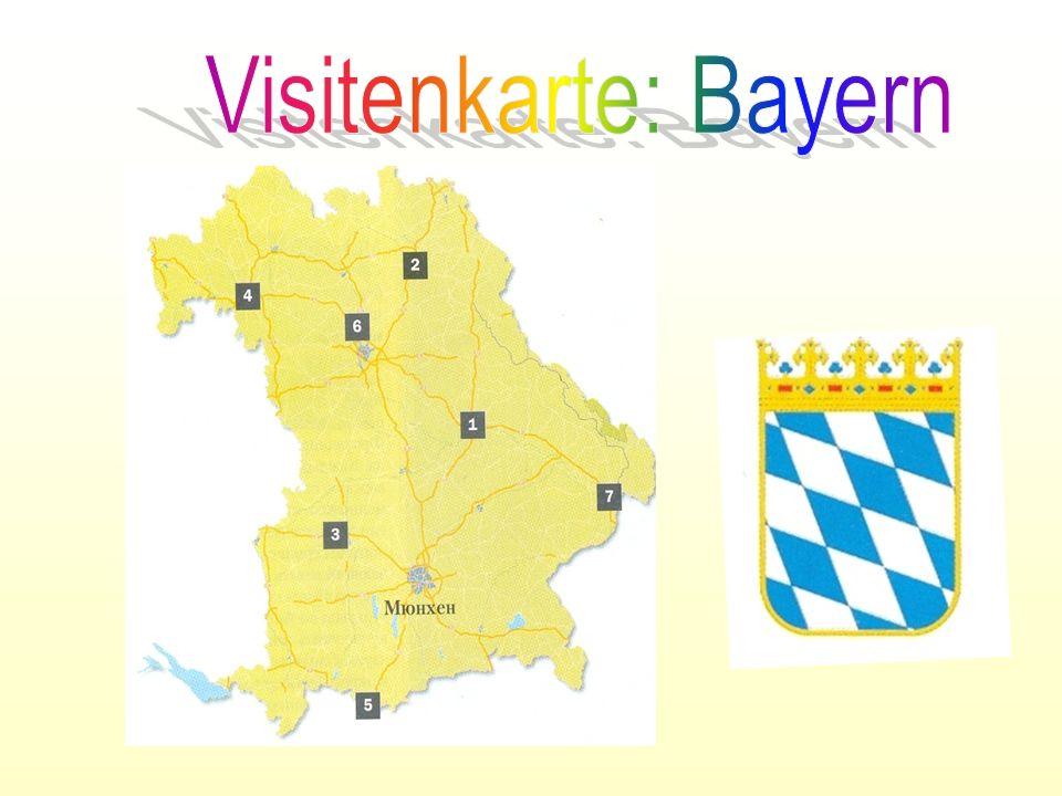 Visitenkarte: Bayern