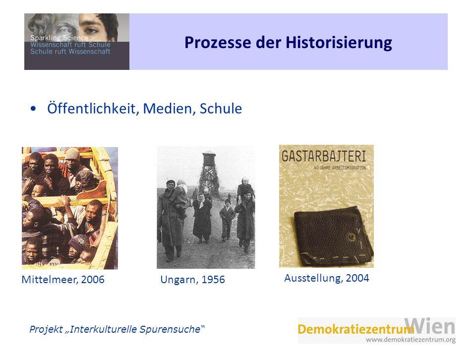Prozesse der Historisierung