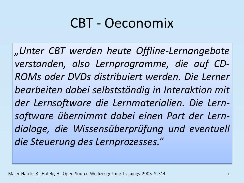 CBT - Oeconomix