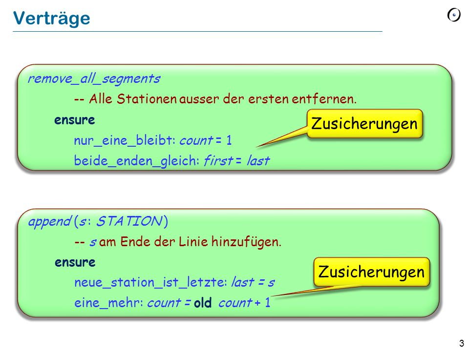 Verträge Zusicherungen Zusicherungen remove_all_segments