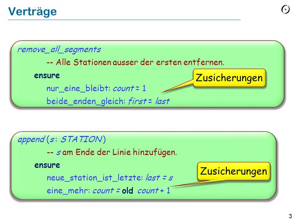 Verträge Zusicherungen Zusicherungen remove_all_segments