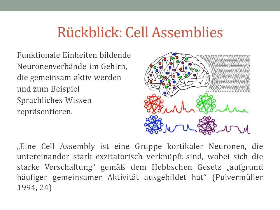 Rückblick: Cell Assemblies