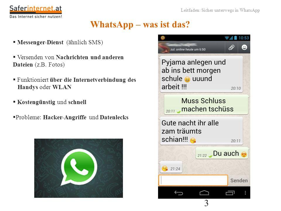 WhatsApp – was ist das Messenger-Dienst (ähnlich SMS)