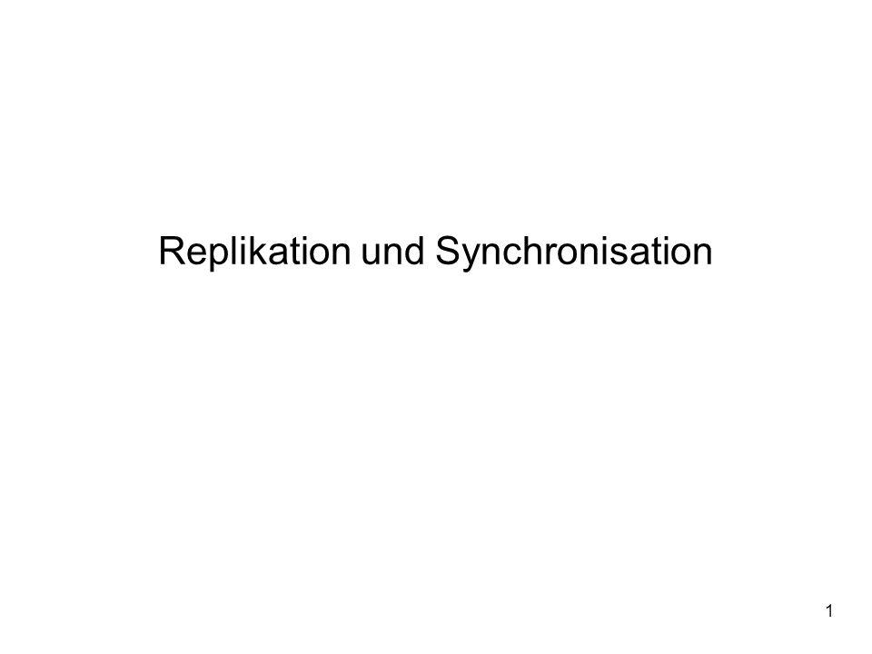 Replikation und Synchronisation