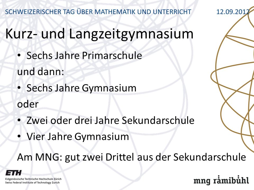 Kurz- und Langzeitgymnasium