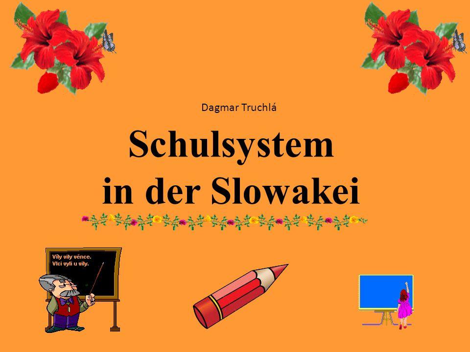Schulsystem in der Slowakei