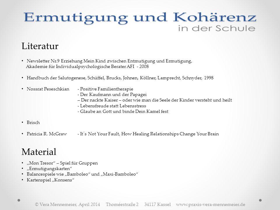 Literatur Newsletter Nr.9 Erziehung Mein Kind zwischen Entmutigung und Ermutigung, Akademie für Individualpsychologische Berater AFI - 2008.