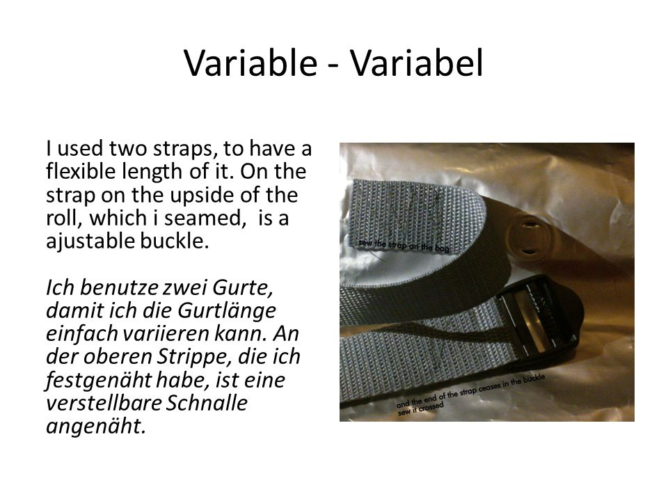 Variable - Variabel