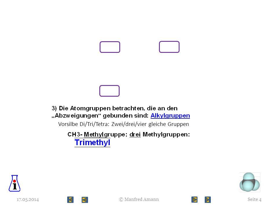 Vorsilbe Di/Tri/Tetra: Zwei/drei/vier gleiche Gruppen