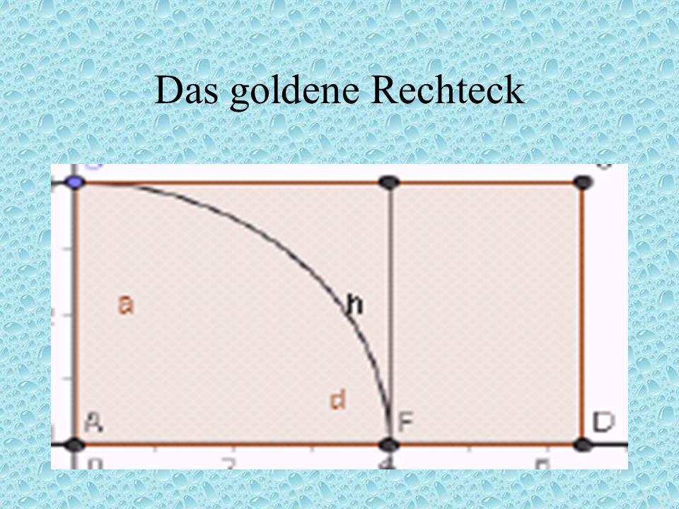 Das goldene Rechteck