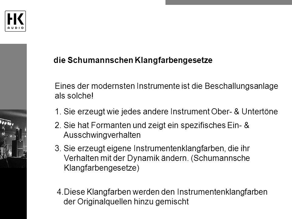 die Schumannschen Klangfarbengesetze